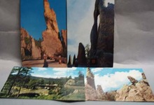 Needles & Skyscraper Rock SD 4 Postcard
