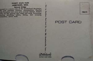 Pickett State Park Jamestown Tenn  PC