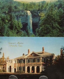 Gov Mansion & Fall Creek Falls Tenn PC