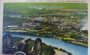 Confederate Cannon Lookout Mtn Tenn PC