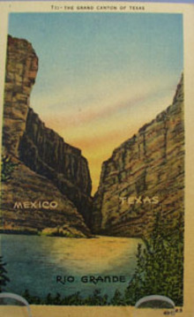 Grand Canyon of Texas Post Card
