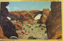 The Spectacles Moab Utah Postcard