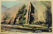 Devils Slide Weber Canyon Utah Postcard