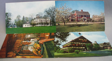 Dutton House Plus 3 More Vt Postcards