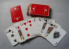 United Airlines Standard deck playing cards.