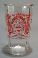 John Dove Chapter, George Washington Bicentennial glass.