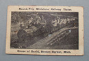 House of David Miniature Railway ticket,