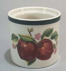 China Pearl Apple Votive Candle.
