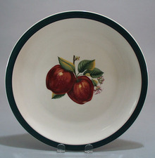 China Pearl Apple Round Chop Plate