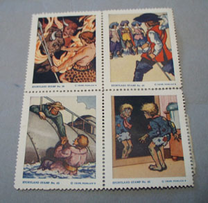 1939 Horlicks Poster Stamps, 1000 leagues under the sea