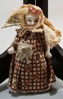 Cival War Era porcelain Doll.