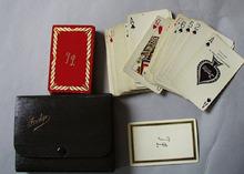 Bridge Cards in Case Letters T L
