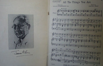 Album Jerome Kern Sheet Music