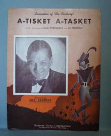 A-Tiskit  A-Tasket Sheet Music