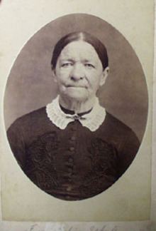 Elderly Lady White Collar Photo
