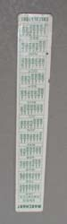 Marchant Calculators ruler,