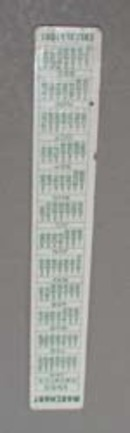 Marchant Calculators ruler,