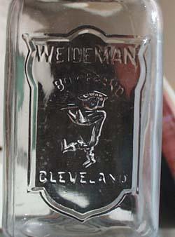 Weideman Boy Brand Bail Handle Canning Jar