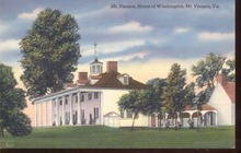 Mt Vernon Home of Washington Linen PC