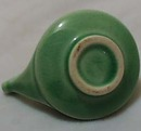 Mini Aladdin Like Green Pottery Pitcher