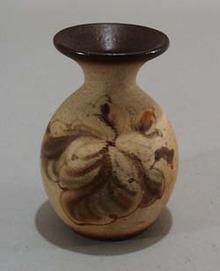 Mini Vase with magnolia. Very artistic little mini vase