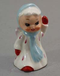 Angel Salt shaker. Wonderful little girl angel salt