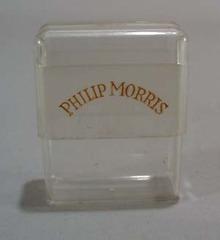 Philip Morris plastic Cigaretter souviner case.