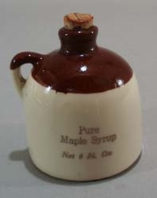 Paden City Artware little brown jug souviner from Seven Springs