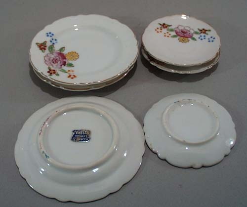 Enesco Japan Childs dishes.