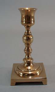 Small Brass Candlestick,