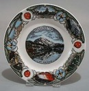 Washington Mt Rainier Souvineer plate,