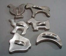 6 old cookie cutters, Horse, chicken, camel, moon