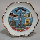 Porcelain Indianapolis speedway porcelain plate.