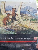 Chrysler & Bears Takes Care of Own Ad 1948