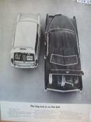 Volkswagen Big One on Left Ad 1969