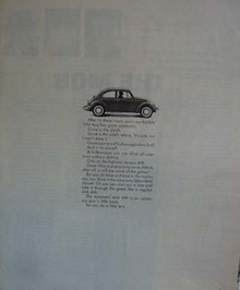 VW Bug gone automatic.1968