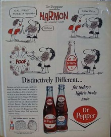 Dr Pepper Make a Wish Ad 1964