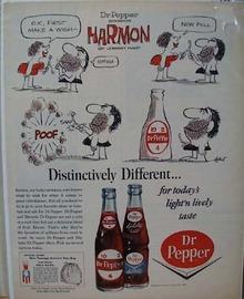Dr Pepper Make a Wish Ad 1964