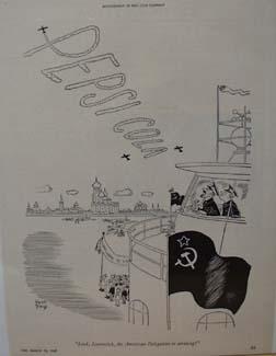 Pepsi Cola Welcome to U.N. ad 1947
