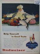 Budweiser Christmas Ad 1948