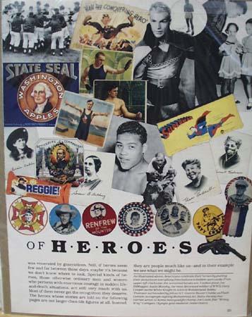 Heroes Joe Louis Buster Crabbe Ad 1978