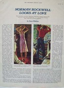Norman Rockwell Looks at Love Ad 1940