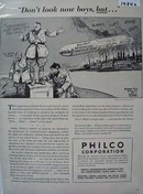 Philco Don't Look Now Ad 1942