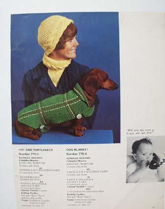 Nantuck Knitting Pattern Ad .