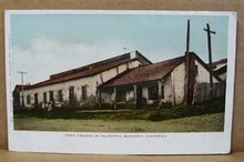 First Theatre in California Post card, Monterey California