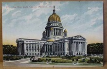 1910 Capitol building Madison Wisconson. # 620 by Bishop