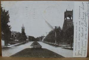Hamilton Street Boulevard, Peoria Illinois pc,