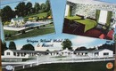 Wagon Wheel Motel Alexandria Virginia postcard,