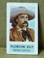 Cracker Jack Card? Western theme showing Yellowstone Kelly