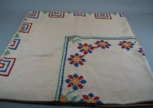 Card Table Cover. Nice heavy muslin